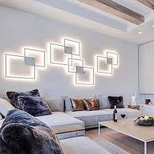 hartisan 2020 neue design led wand le wohnzimmer schlafzimmer foyer wand licht dekoration le runde platz montiert led beleuchtung