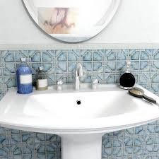 Home Depot Merola Hex Tile by Merola Tile Moonbeam Diva Blue 11 3 4 In X 11 3 4 In X 7 Mm