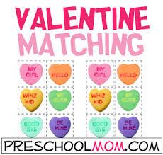 Valentines Day Preschool Printables