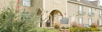 100 Oaks Residences Floor Plans Residence At Garden Apartments In Houston TX