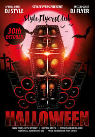 Free Halloween Flyer Templates by Download The Halloween Free Psd Flyer Template For Photoshop