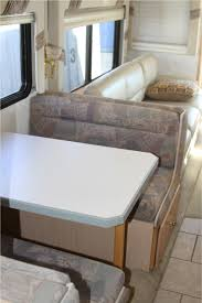 Original Dinette Cushions In RV