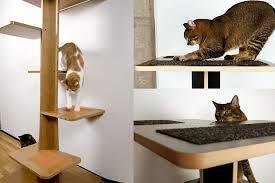 modern cat furniture accessories square cat habitat baobab modern cat tree