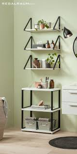 metallregale fürs badezimmer regal zimmer badezimmer