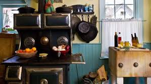 Friendly Colorful Farmhouse Kitchen