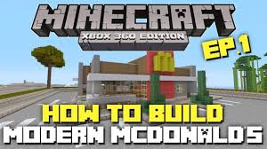 Minecraft Xbox 360: How To Build: Modern McDonald's! (Part 1 ... Minecraft Gaming Xbox Xbox360 Pc House Home Creative Mode Mojang Cool House Ideas Xbox 360 Tremendous 32 On Home Lets Build A Barn Ep1 One Edition Youtube Fire Station Tutorial 1 Minecraft Horse Stable Google Search Pinterest Mansion Part And Silo Part 4 How To Make