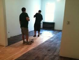Hardwood Floor Buffing Compound by Turn Your Wood Floors Gray New Floor Weathered Look Bob Vila