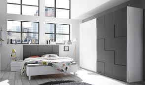 schlafzimmerset weiss grau matt 3d optik nicato6