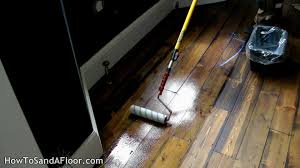 Restain Hardwood Floors Darker by How To Lacquer Oil Or Varnish A Wood Floor Youtube