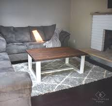 100 Living Room Table Modern DIY Farmhouse Coffee The Crafted Maker