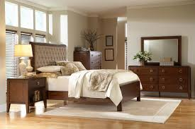 Bedroom Elegant Tufted Bed Design With Cool Cheap Tufted by Varnished Oak Wood Platform Bed With Front Drawers And Curved