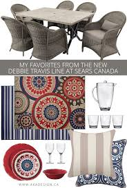 Sears Canada Kitchen Curtains by My Favorites From The New Debbie Travis Line At Sears Canada