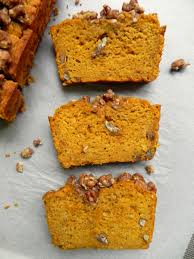 Eggless Pumpkin Muffins by Healthy Pumpkin Bread With Maple Pecan Crumble Vegan