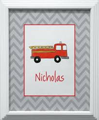 100 Fire Truck Wall Art 2019 Latest Ideas
