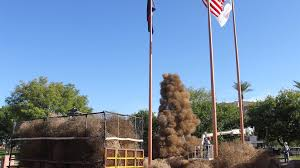 Tumbleweed Christmas Tree Pictures by 12news Com A Tumbleweed Christmas Tree Is So Desert Of You Chandler