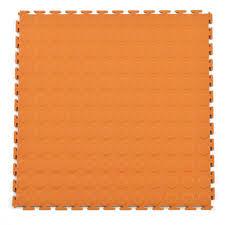 Garage and Warehouse Floor Modular PVC Coin Top Plastic Floor Tile