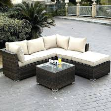 Outdoor Sectional Sofa Canada by Patio Furniture Sectional Clearance U2013 Vecinosdepaz Com