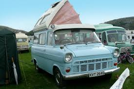A Classic Ford Transit Converted Into Campervan Photo By Terry Whalebone