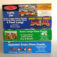 100 Melissa And Doug Fire Truck Puzzle Lot 4 2448 Pc Jigsaw Floor S Dinosaurs