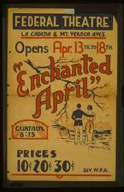 Enchanted April Opens Apr 13th To 18th Federal Theatre La Cadena