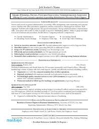Office Assistant Resume Example Resumes For Administrative