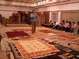 fabrication d un tapis noué fée en brocéliande