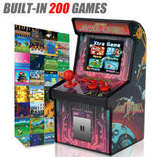 Mame Cabinet Plans Download by Amazon Com Kids Mini Retro Arcade Game Cabinet Machine With 200