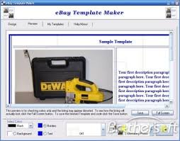 Free Ebay Templates Builder By Auction Template Generator Rachael Edwards