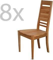 staboos 8er set esszimmerstühle holz ch03 stuhlset bestehend aus 8 stühlen polsterstuhl bis 130 kg holzstühle esszimmer küchenstühle holz