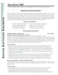 Sample Resume Software Developer Senior Engineer Remote