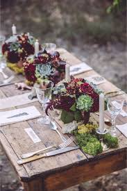 Adorn Your Spring Wedding Table With Fresh Succulents And Rustic Decor