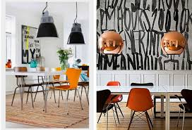 Colorful Dining Chairs Modern Mix Up Design Lovers Blog