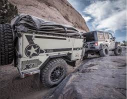 This Military-Spec Off-Road Camping Trailer Will Go Anywhere Your ...