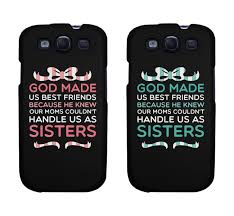 Amazon Cute BFF Phone Cases God Made Us Best Friends Phone