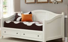 Trundle Bed Twin White