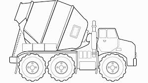 100 Construction Truck Coloring Pages Unique Crane Page