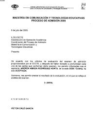 IVE TALLER DE LECTURA Y REDACCION Carta Formal