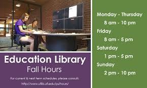 education library university of florida index