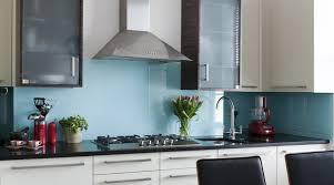 Light Blue Single Colour Splashback