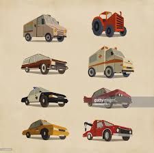 100 50 Cars And Trucks Variety Of Retro Stock Illustration Getty Images