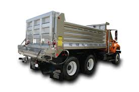Galion Stainless Dump Body With Spreader - Kaffenbarger Truck ...