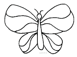 Printable Monarch Butterfly Coloring Pages Book Page Inside Free 5 Simple Within 8
