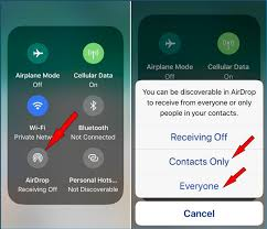 How to Use AirDrop on iPhone X to Contents with Other iOS