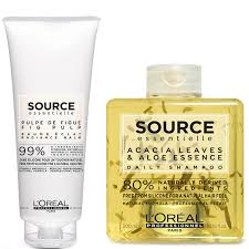 100 Daily Source LOral Professionnel Essentielle Shampoo And Hair Balm Duo