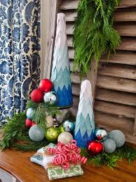 Ombre Tabletop Christmas Trees
