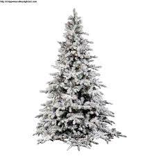 6 Ft Flocked Christmas Tree Doliquid
