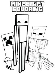 Stampy Coloring Pages H7985 3 Cat Minecraft