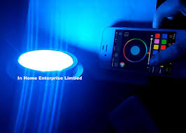 Bluetooth Control 27w Boat Underwater Led Lights 316 SS IP68