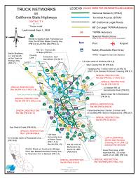 100 Truck Route Map City City Of St Helena