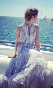 cannes si鑒es cannes si鑒es 57 images un vestido de novia para pisar la